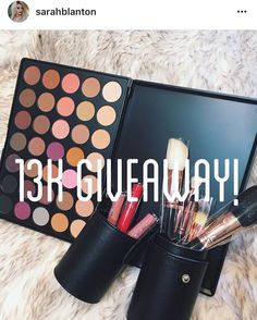 I won another giveaway! Thank you so much @sarahblanton and congrats on 13K! Can't wait until I'm there  Super excited to try all these new things and share it with you guys!  Also been having a really bad day so far but this helped.  #blessed #blessingsonblessingsonblessings #makeupgiveaway #morphebrushes #colourpopcosmetics #makeuplife #makeupartist #makeupmurah #makeupmafia #makeupaddict #makeupdolls #makeupjunkie #makeuplooks #makeuplover #makeupblogger #makeuplovers #makeupwhore…