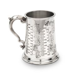 Kings and Queens pewter tankard - Historic Royal Palaces online gift shop.    WANT.