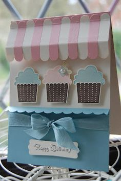 Stampin' Up! Cupcake Punch by Kerry at Stampinspiration: Cupcakes Away!