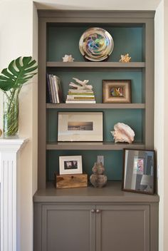 Beautiful Incredible Painted Bookshelves Ideas Ideas For Painting Bookshelves Best 25 Painted Bookcases Ideas On Painting Bookcase, Painted Bookshelves, Decorating Bookshelves, Built In Bookcase, Painted Shelving, Built In Hutch, Alcove Bookshelves, Barrister Bookcase, Small Bookcase