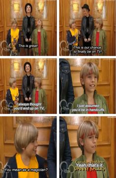 "When Zack didn't get it: | Community Post: 21 Of The Most Underrated Moments From ""The Suite Life Of Zack And Cody"""