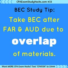 Can't figure out when to take BEC? This might help!