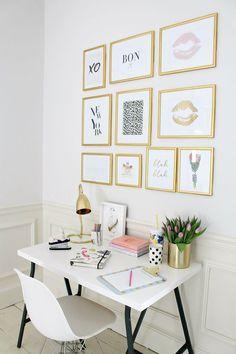 ⇢ Es ORO todo lo que reluce      5 #tips únicos para 'enjoyar' tu #decoración