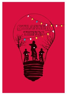Alternative stranger things minimalist art print. #art #design #poster #print #wallart #posterart #geek #tv serie #illustration #fanart #vector #posterartist