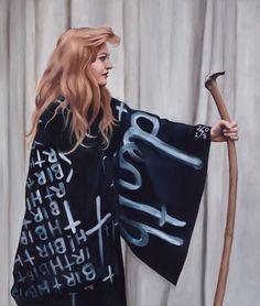 Heidi Yardley: Birth/death – portrait of Nell :: Archibald Prize 2016 :: Art Gallery NSW