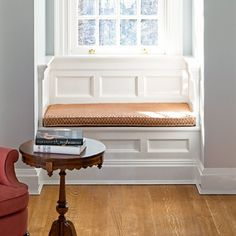 To tie your window seat in with the rest of the room, look to existing moldings. Baseboards, for example, should wrap around the seat where it meets the floor. | Photo: Ed Reeve/Red Rover | thisoldhouse.com