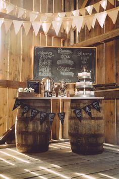 Gourmet coffee bar set up outdoor rustic wedding ideas for Food bar on church