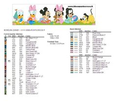COLORI BORDURA BABY DISNEY