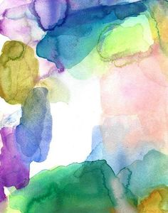 Clarity Original Painting Abstract Watercolor by soveryhappyart, $48.00