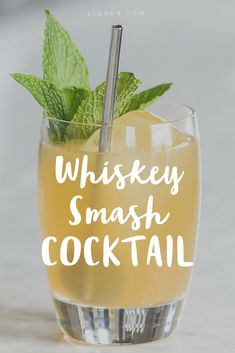 This tasty #cocktail is one of our favorite #whiskey concoctions.