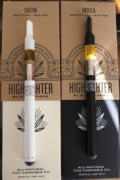 """thctara: """"Highlighter cannabis vapor pens by Bloom Farms """" - these are perfection"""