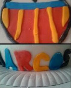 Tarta Valencia CF