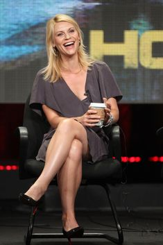 Actress Claire Danes speaks during the 'Homeland' panel during the Showtime portion of the 2011 Summer TCA Tour held at the Beverly Hilton Hotel on August 4, 2011 in Beverly Hills, California.