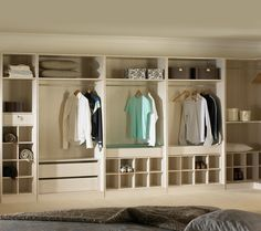 Great Offener Kleiderschrank Beispiele wie der Kleiderschrank ohne T ren modern und funktional vorkommt