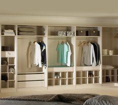 Ikea pax schrank ohne türen  Offener Kleiderschrank - 39 Beispiele, wie der Kleiderschrank ohne ...
