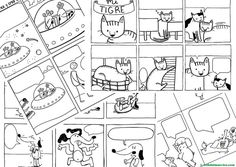 como-hacer-un-comic Writing Prompts For Kids, Picture Writing Prompts, Vlog Youtube, Dual Language Classroom, Comic Pictures, Secondary School, Teaching Spanish, A Comics, Teaching Tools