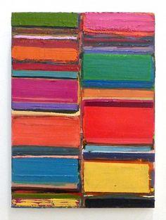 Tegene Kunbi, As Far 2015, Oil on canvas