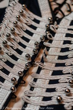 Hussar style corset