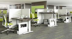 Ology height-adjustable tables by Steelcase supports the physiology and biology of workers to make the workplace a more health-conscious environment.