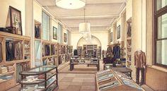 Clark Smith Architectural Rendering   Retail Interiors