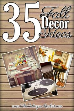 35 Fabulous Fall Decor Ideas