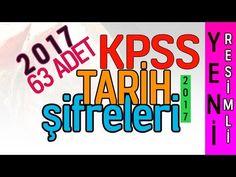 2017 KPSS RESİMLİ TARİH ŞİFRELERİ ( 10 DAKİKADA TARİHİ BİTİRİN) - YouTube