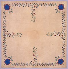 """Table Mat, ca. 1910 