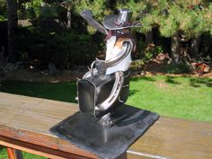 Horseshoe cowboy on mechanical bull by DavidHamiltonDesigns, $59.00