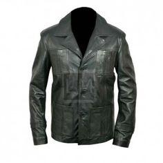 Life On Mars Black Leather Jacket