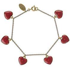 Cath Kidston heart bracelet
