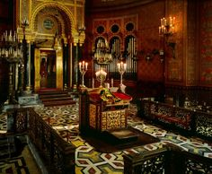 Great Synagogue of Florence interior