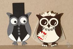 Sweet Owl Couple ... punch art     from myownart.bplaced.net