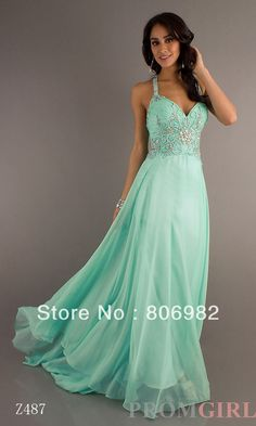 Mint Green Bridesmaid dress another one with silver accents