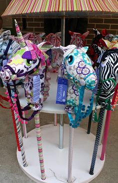 Amazing hobby horses - Handmade for Kids at Cobbitty Markets