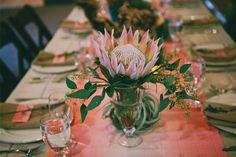 A SoCal Wedding Featuring One Stylish Couple Cat Wedding, Plan My Wedding, Wedding 2015, Wedding Wishes, Wedding Reception, Wedding Ideas, Wedding Things, Wedding Inspiration, Protea Wedding