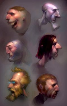 Adam Ford - faces studies ★ Find more at http://www.pinterest.com/competing/