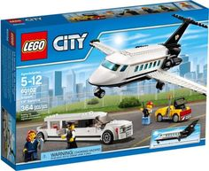 Take a look at this City Airport VIP Service Building Set today! Building Sets For Kids, Building Toys, Private Plane, Private Jet, Lego City Airport, Cheap Lego, Lego Plane, Best Lego Sets, Sisters