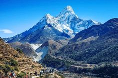 Everest Base Camp Trek, Travel Ideas, Mount Everest, Traveling By Yourself, Boards, Camping, Explore, Mountains, World