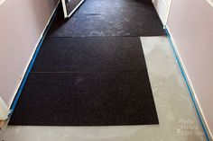 I installed radiant floor heating in our mudroom/laundry room and I couldn't be…