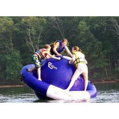 we could have so much fun on this at the lake! so cool!