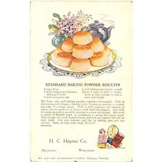 H. C.  Hayter Co. We sell and recommend CALUMET BAKING POWDER
