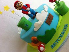 Super Mario Bros Cake by MyCakes.com.au, via Flickr