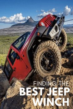 70e79c10ccae Ever wonder what the best winch is for your Jeep Wrangler? Our  comprehensive Jeep winch