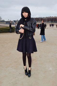 a line skirt leggings