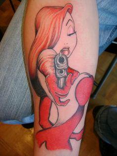 254344ae6 Jessica Rabbit Tattoos | Jessica Rabbit Tattoo By Phoenix Sky Designs  Picture Feminine Tattoos, Unique
