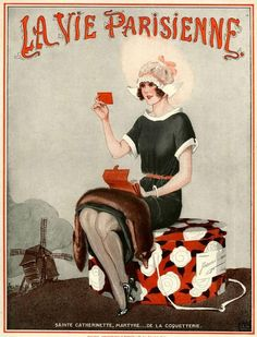 "hoodoothatvoodoo: "" Illustration by George Leonnec For La Vie Parisienne 1920s """