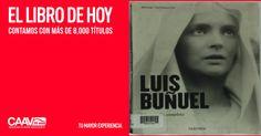 Luis Buñuel, uno de los más brillantes representantes del movimiento surrealista, optó por hacer películas y fue capaz de hacer con fidelidad inquebrantable a sus principios durante cincuenta años. #BibliotecaCAAV,  #Pontealeer