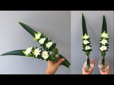 Idea Of Making Plant Pots At Home // Flower Pots From Cement Marbles // Home Decoration Ideas – Top Soop Tropical Floral Arrangements, Creative Flower Arrangements, Flower Arrangement Designs, Ikebana Flower Arrangement, Church Flower Arrangements, Ikebana Arrangements, Flower Centerpieces, Flower Decorations, Fake Flowers