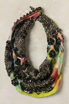 Scarf and necklace all in one!