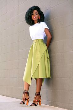Modest Dresses, Modest Outfits, Classy Outfits, Dress Outfits, Black Women Fashion, Cute Fashion, Modest Fashion, Fashion Outfits, Women's Fashion